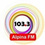 Logo da emissora Radio Alpina 103.3 FM
