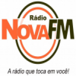 Logo da emissora Rádio Nova FM Hits