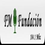 Logo da emissora Radio Fundación 104.1 FM