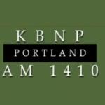 Logo da emissora Radio KBNP 1410 AM