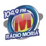 Logo da emissora Rádio Moriá 104.9 FM