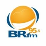 Logo da emissora Rádio BR 95.5 FM