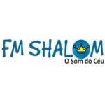 Logo da emissora Web Rádio FM Shalom