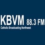 Logo da emissora Radio KBVM 88.3 FM