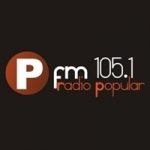 Logo da emissora Radio Popular 105.1 FM