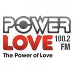 Logo da emissora Radio Power Love 100.2 FM