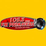 Logo da emissora Radio Primavera 105.3 FM