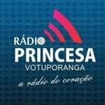 Logo da emissora Rádio Princesa Votuporanga