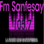 Logo da emissora Radio Sanfesay 105.7 FM