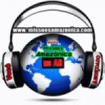 Logo da emissora Missões Amazônica
