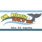 Logo da emissora Radio Atlantic 105.9 FM
