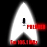 Logo da emissora Radio Aprender 106.1 FM