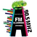 Logo da emissora Radio Algarrobo 106.1 FM