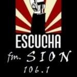 Logo da emissora Radio Sion 106.1 FM