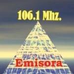 Logo da emissora Radio Contemporanea 106.1 FM