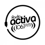 Logo da emissora Radio Activa 106.1 FM
