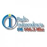 Logo da emissora Radio Independencia 106.3 FM