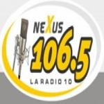 Logo da emissora Radio Nexus 106.5 FM