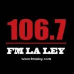 Logo da emissora Radio La Ley 106.7 FM