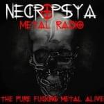 Logo da emissora Necropsya Metal Rádio
