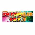 Logo da emissora Radio Popular 107.1 FM