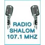 Logo da emissora Radio Shalom 107.1