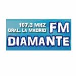 Logo da emissora Radio Diamante 107.3 FM