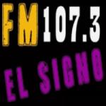 Logo da emissora Radio El Signo 107.3 FM
