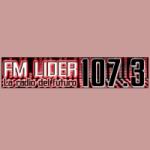 Logo da emissora Radio Lider 107.3 FM