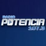 Logo da emissora Radio Potencia 107.3 FM