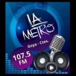 Logo da emissora Radio La Metro 107.5 FM