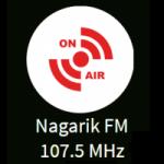 Logo da emissora Radio Nagarik 107.5 FM