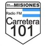 Logo da emissora Radio Carretera 101 107.7 FM