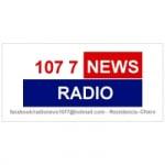 Logo da emissora Radio News 107.7 FM