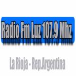 Logo da emissora Radio Luz 107.9 FM