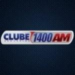 Logo da emissora Rádio Clube 1400 AM
