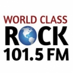 Logo da emissora Radio KFLY 101.5 FM