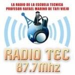 Logo da emissora Radio Tec 87.7 FM