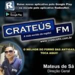 Logo da emissora Crateús FM
