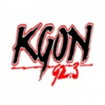 Logo da emissora Radio KGON 92.3 FM