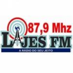 Logo da emissora Rádio Lajes 87.9 FM