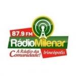 Logo da emissora Rádio Milenar 87.9 FM