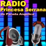 Logo da emissora Rádio Princesa Serrana