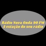 Logo da emissora Rádio Nova Onda 90 FM