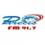 Logo da emissora Rádio Parecis 91.7 FM