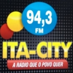 Logo da emissora Rádio Ita City 94.3 FM