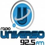 Logo da emissora Radio Universo 92.5 FM