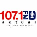 Logo da emissora Radio Actual 107.1 FM