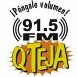 Logo da emissora Radio Q' Teja 91.5 FM