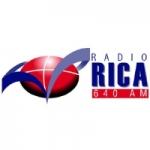 Logo da emissora Radio Rica 640 AM